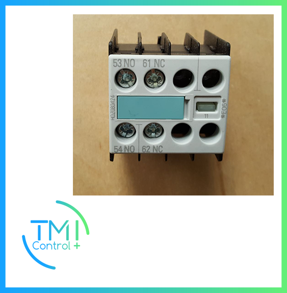 SIEMENS - 03048564-01 Auxil. switch block 3RH19/2pole/1NC+1NO